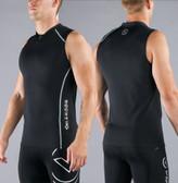 Virus Men's Stay Cool Sleeveless Compression V-Neck Tank Top