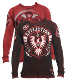 Affliction Rise Above Long Sleeve Crew Neck Reversible Thermal