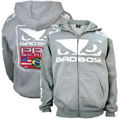 Bad Boy Walkout Hoodie Heather Grey