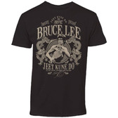 UFC Bruce Lee Black Rustic Shirt