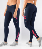 Virus Women's Stay Cool Eco21 Compression Pant NAVY/CORAL