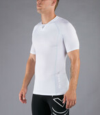 Virus Men's Stay Cool Short Sleeve Compression V-Neck (CO5)