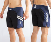 Virus Mens Disaster Combat Shorts ST2 NAVY/WHITE