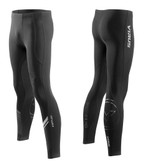 Virus Men's Stay Cool Grappling Compression Spats (Co19) BLACK/SILVER