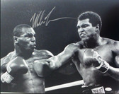 Mike Tyson vs Ali Signed Autographed 16x20 Photo JSA Authenticated