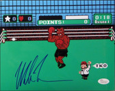 "Mike Tyson Signed ""Punchout"" 16x20 Photo - JSA Certifired"