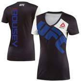 Ronda Rousey UFC Reebok Women's Jersey - Black/Blue