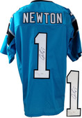 Cam Newton Autographed Jersey JSA Authenticated