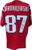 Rob Gronkowski Autographed Jersey JSA Authenticated