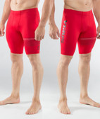 Virus Mens Stay Cool Compression V3 Tech Shorts (CO23) RED