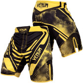 Venum Technical Fight Shorts (Black/Yellow)