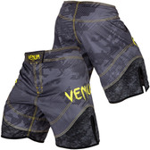 Venum Tramo Fight Shorts (Black/Yellow)