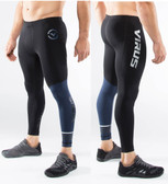 Virus Men's Compression Tech Pants RX8 (BLACK/NAVY)