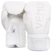 Venum Elite Boxing Gloves WHITE
