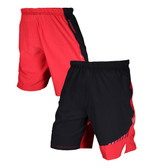 Virus Mens Origin Active Shorts (ST3) BLACK/RED