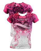 Affliction Sinful Gracy SS Baby Shirt