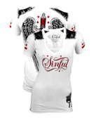Affliction Sinful Blanca SS Shirt