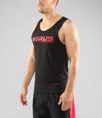VIRUS Mens TT-5-Stay Cool VP Tech Tank X Large Black/Red