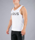VIRUS Men's Stay Cool Technical Tank- VIRUS ASP White