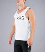 VIRUS Men's Stay Cool Technical Tank- VIRUS ASP White