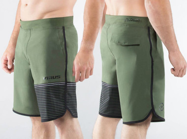 Virus Mens Velocity Shorts (ST5) Olive Green
