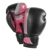 Bad Boy Endurance Series Women's 8oz BLACK Boxing Gloves