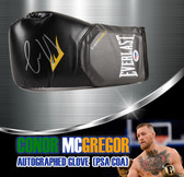 Conor McGregor Autographed Everlast Boxing Glove (PSA/DNA Hologram)