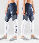 Virus Women's Compression Pant ECO21.5 Navy/White