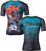 Tatami Devils Triangle Short Sleeve Rash Guard