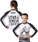 Tatami Kids Gentle Panda Long Sleeve Rash Guard