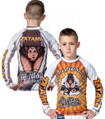 Tatami Kids Zen Gorilla Long Sleeve Rash Guard