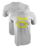 Jaco Grunge Crew Shirt (Silver/Yellow)
