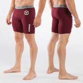 Virus Men's Stay Cool Compression Short (Co14.5) Maroon
