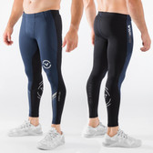 Virus Men's Stay Cool Grappling Compression Spats (CO19) Navy/Black