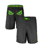 Bad Boy Legacy III  Black/Green Fight Shorts