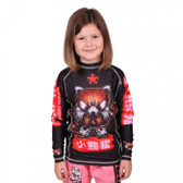 Tatami Kids Meerkatsu Red Panda Long Sleeve Rash Guard