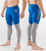 Virus Men's Bioceramic Compression Tech Pants (AU8.5) Electric Blue/Grey