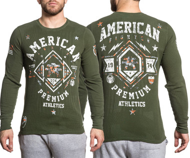 American Fighter Arlington Pattern L/S Thermal