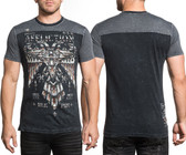 Affliction Silent Eagle Chrome S/S FB shirt
