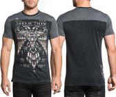 Affliction Silent Eagle Chrome S/S FB shirt