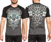 Affliction Never Surrender SS T-shirt