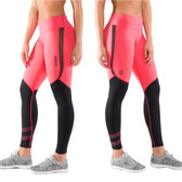 Virus Women's Stay Cool Compression Pants (Eco33) Teaberry/Black