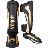 VENUM ELITE STANDUP SHINGUARDS BLACK/GOLD