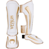 VENUM ELITE STANDUP SHINGUARDS WHITE/GOLD