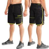Virus ST5 Men's Velocity Short - Black Camo/Lime Punch