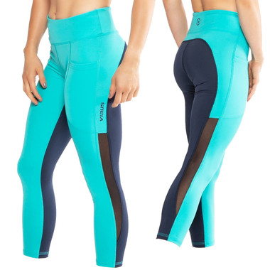 Virus ECO53.5 Lux with Mesh Stay Cool 7/8 Length Compression Pants