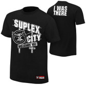 "WWE Brock Lesnar ""Suplex City Welcomes You"" Authentic T-Shirt"