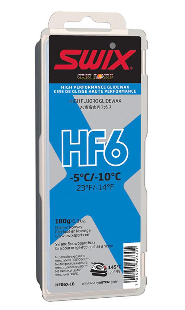 Swix HF6X Wax 180g