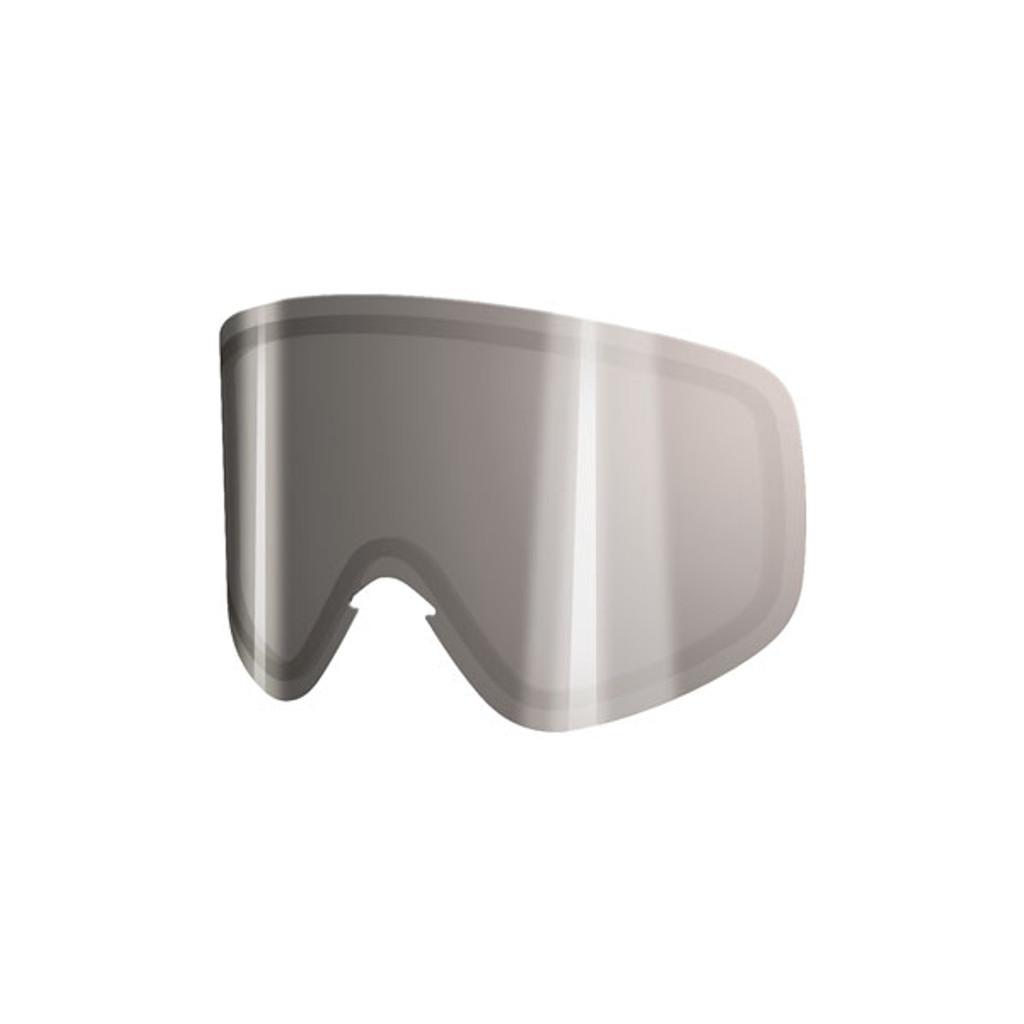 POC Iris Stripes Spare Lens - Clear + Silver Mirror