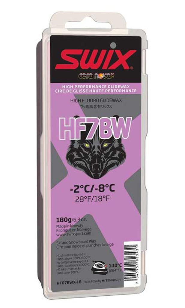Swix HF7BWX High Fluoro Wax 180g